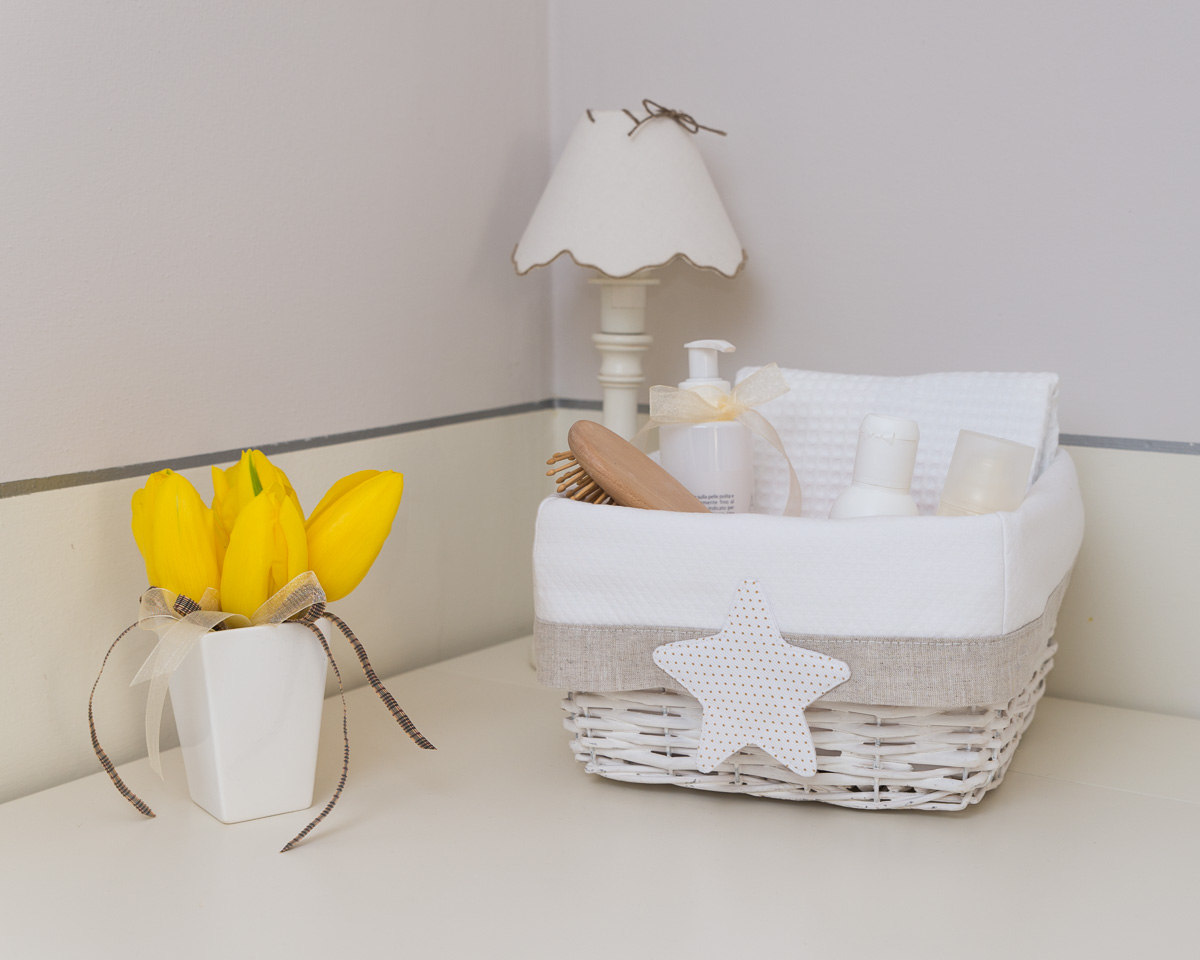 Little Stars Nursery Storage Baskets
