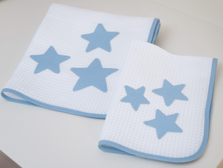 asciugamani azzurri