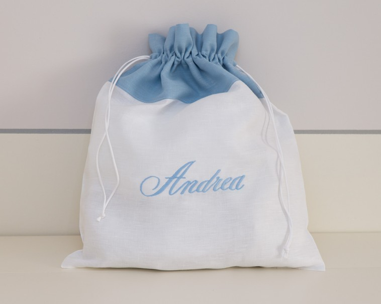 sacchetti azzurri