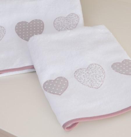 asciugamani rosa