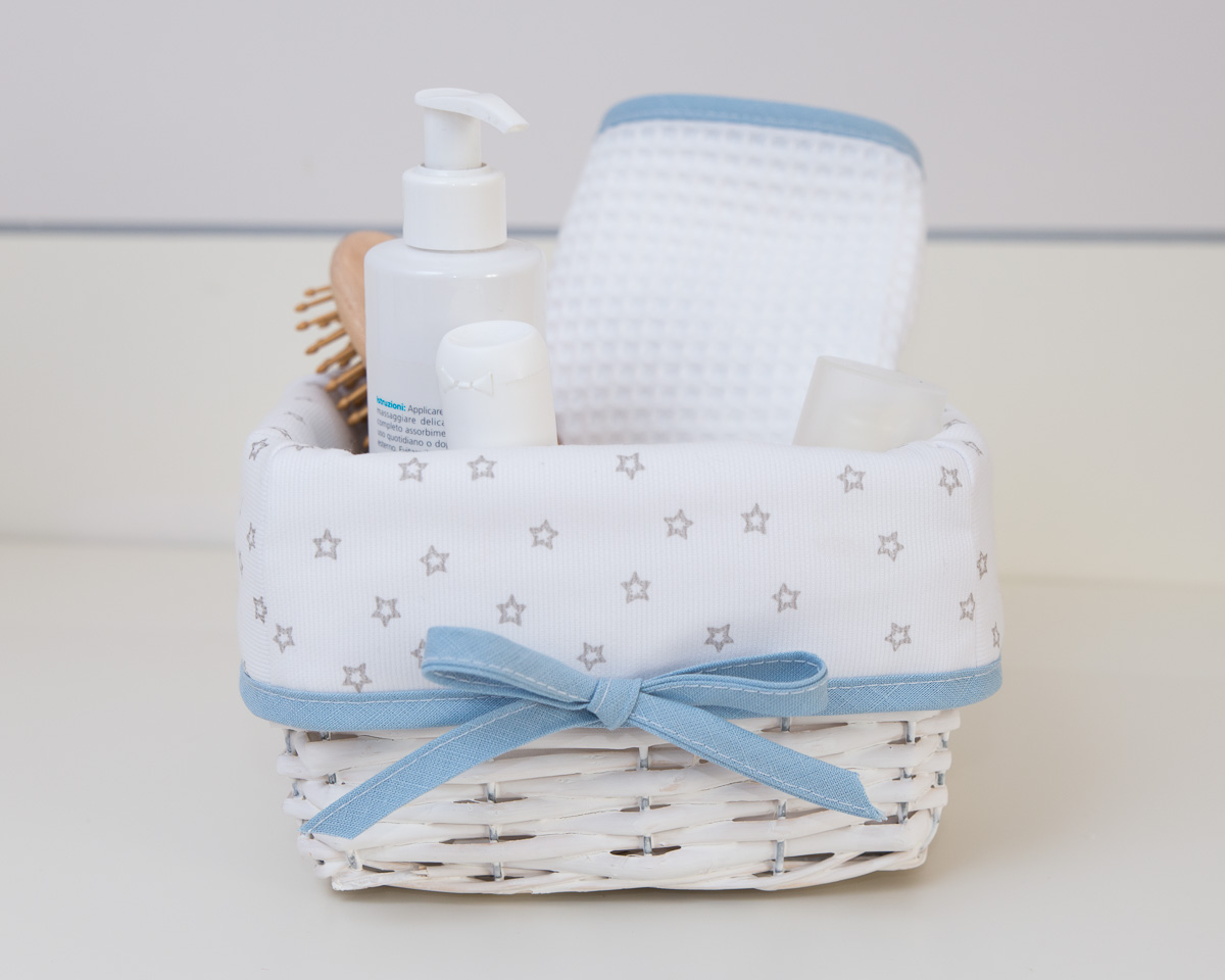 Baby Boy Dream Nursery Storage Baskets